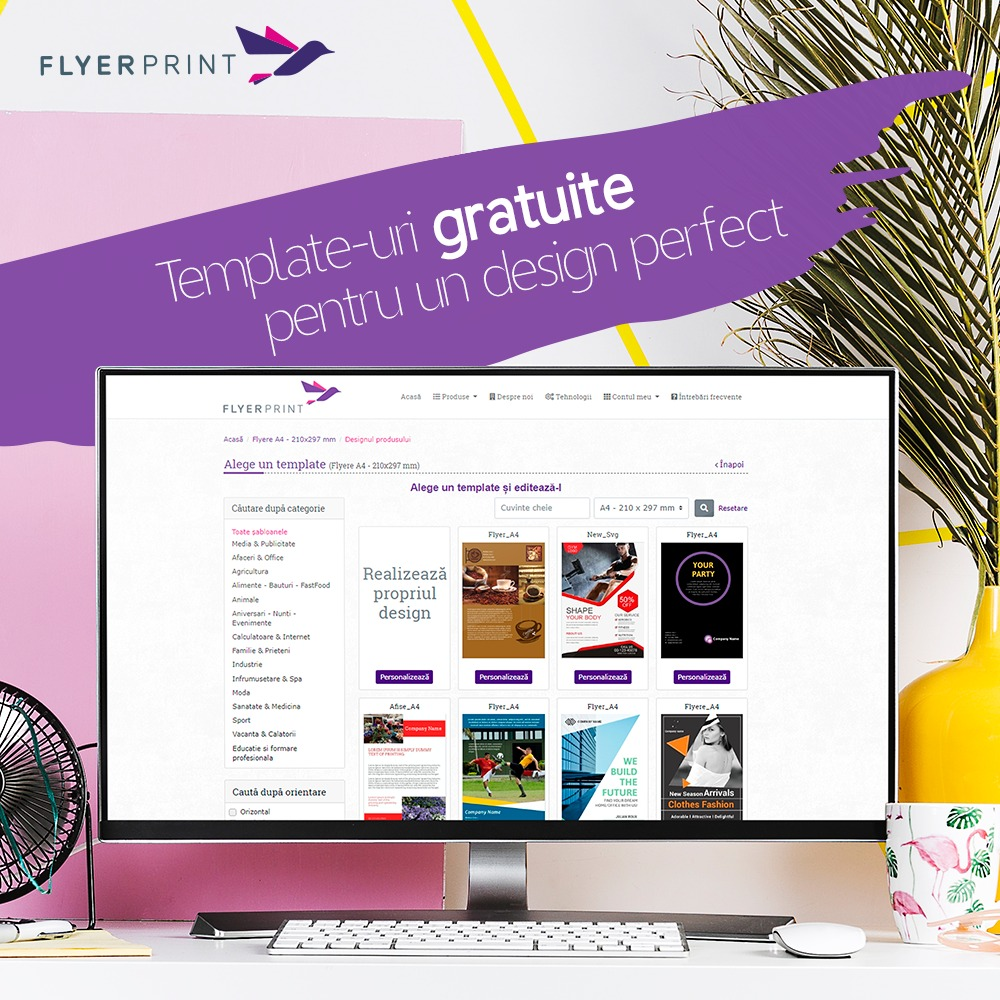 Cum îți poți realiza grafica pentru print cu editorul grafic online?